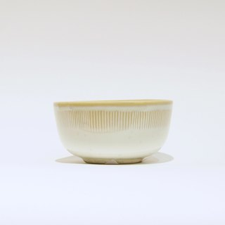 Hand made straight-lined small bowl