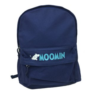 Moomin 噜噜 米 authorized - new zipper backpack (Navy)