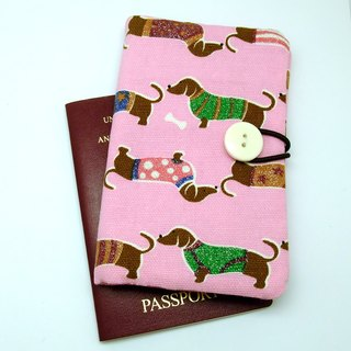 Passport sleeve, passport cover, fabric passport case, pouch (Ps5)