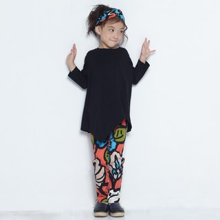 Comoyo-printed pencil pants
