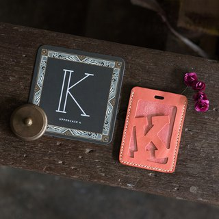 Alphabet Card Holder。Luggage Tag Version H-N