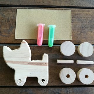 DIY wooden toy - CAT