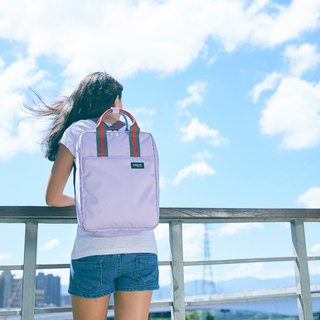 TRAVO 1.5 - VERTICAL TRAVEL TOTE - Iris Purple
