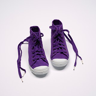 Spanish national canvas shoes CIENTA children's shoes size purple fragrant shoes 61997 45