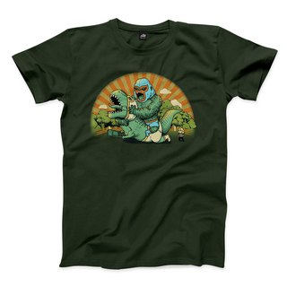 To hold the storm - Forest Green - Neutral T-shirt