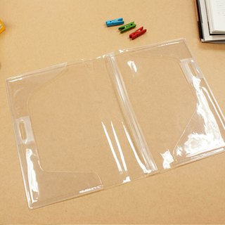 Limited A5/25K transparent book cover / double pen insert book cover
