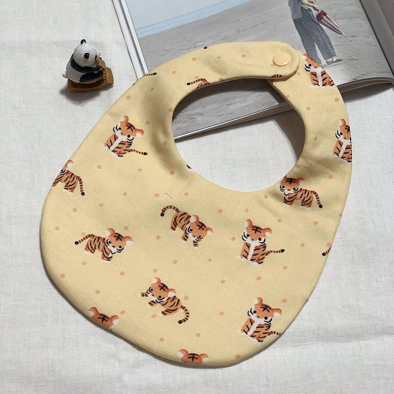 可愛老虎 嬰兒圍兜 口水巾 寶寶圍兜