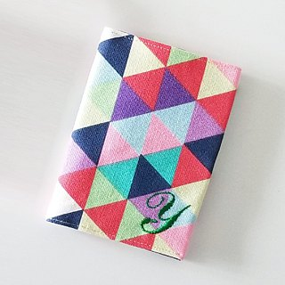Passport Cover (Colorful Triangles)