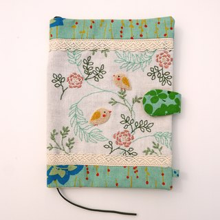 Spring Garden Handmade Embroidered Cloth Book Clothes Temperament Book Set Best Gift