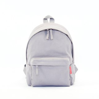 Waterproof Heavy Canvas Backpack ( Mini, A4 ) / Grey / for both adults and kids