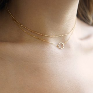 Karma Necklace - 14K Gold Filled