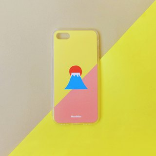 Fuji mountain-Sunset phone case