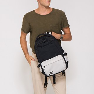 SOLIS Color Palette  Reise Laptop Backpack(Gray/Black)