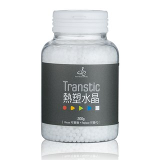 Transtic thermoplastic Crystal (white) variant of soil crystal soil invasive plastic soil