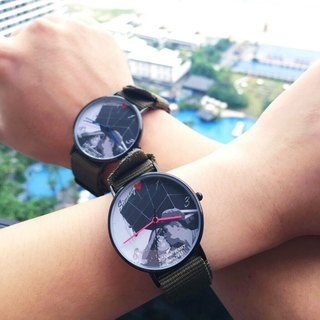 Customized Watches - Christmas Couple Introducing DIY Watches - Photo Face