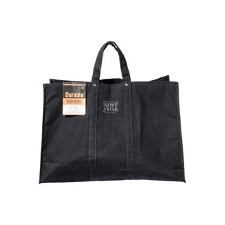 LABOUR TOTE BAG Large Black Pure cotton industrial wind green shopping bag L black