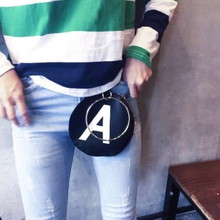 AM0000 ||| Circle A 3 way multi-purpose neutral waist bag black 85% pre-order