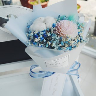 Small fresh/cotton/fragrance/graduated bouquet