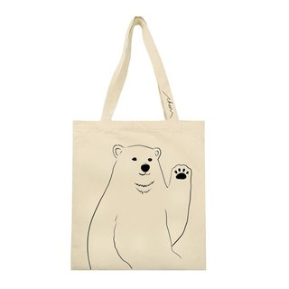北極熊布包 design your own POLAR BEAR bag