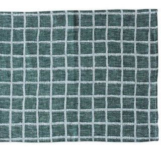 Nordic style designer – checkered table mat (green) Rutig Place Mat, Green