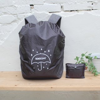 Universal Backpack Waterproof Rain Cover - Dark Gray (Anti-fouling, Anti-Theft)_108009