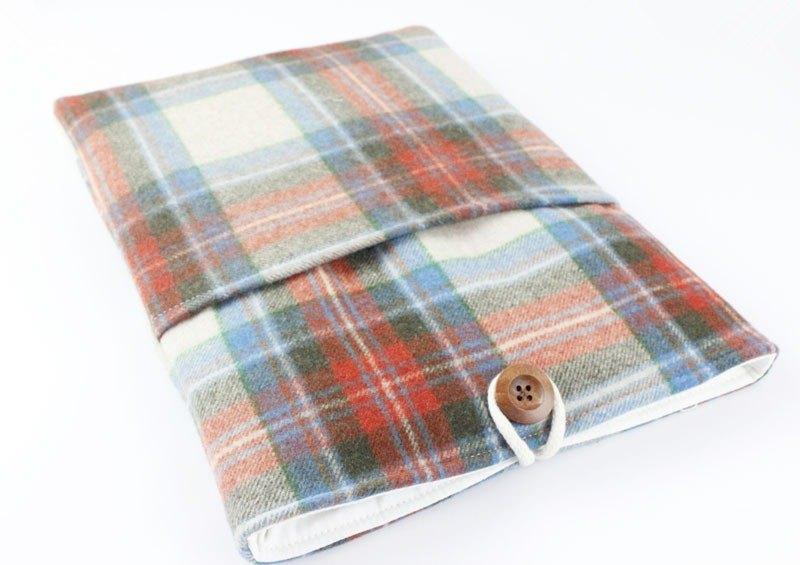 純手工 苹果 電腦保護套 筆電包 電腦包 Macbook 13吋 布料收納袋