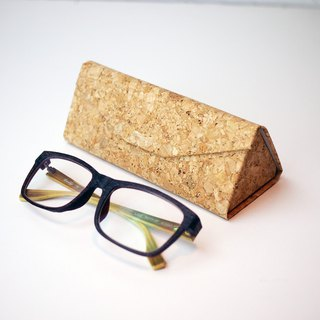 Cork Card Case glasses case spectacles case eyeglass case eyewear case (folding)