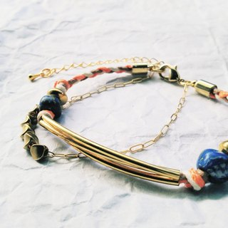 Fallin Love. Fall in love with glass beads bracelet