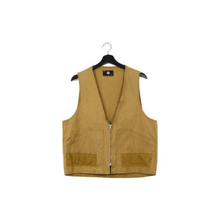 Back to Green Hunting vest khaki / / men and women can wear M-03