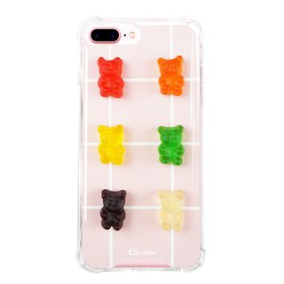 [Color Gummy Candy] Anti-gravity Anti-fall Mobile Shell