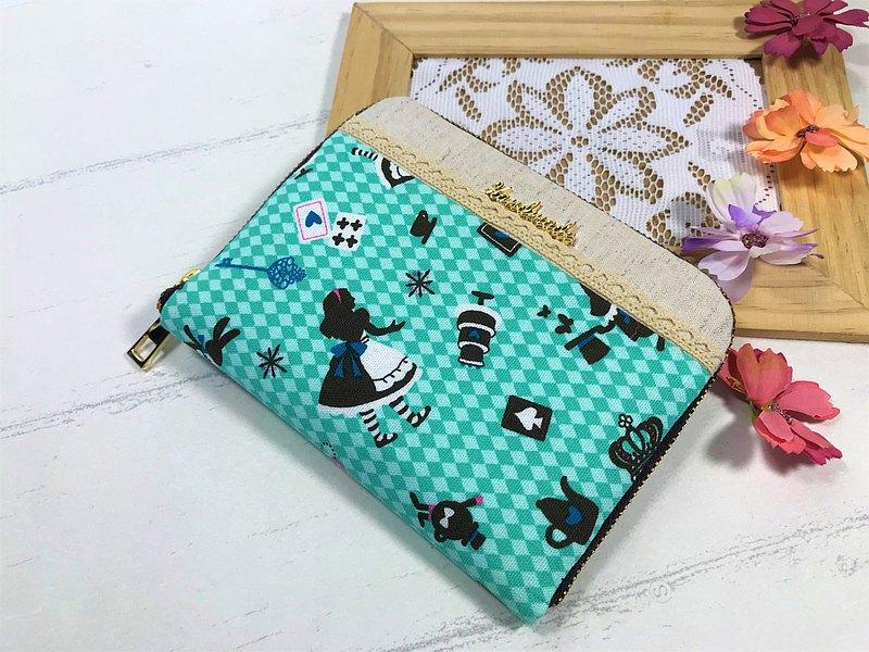 Fantasy【愛麗絲棉布】護照夾