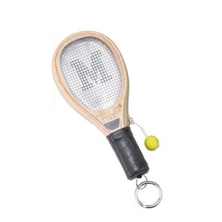SUSS-Japan Magnets tennis racket styling card holder / ID card / coin purse (white) - spot