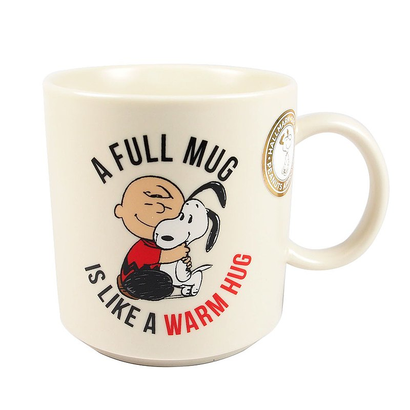 Snoopy馬克杯 溫暖的擁抱【Hallmark-Peanuts史努比馬克杯 】