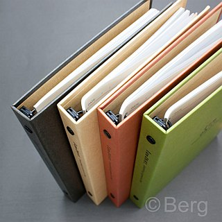 Boge stationery xIamOkay (hardcover narrow version 18K26 hole folder) four colors