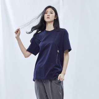 DYCTEAM Basic Series | Slogan By Side Tee (BL)