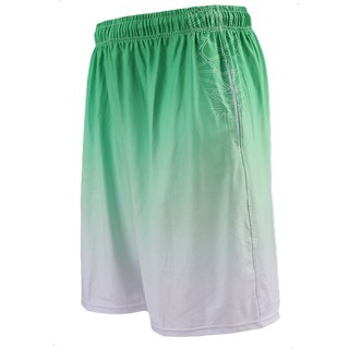 ✛ tools ✛ gradient up sublimation basketball # green # basketball pants