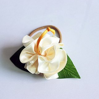 3ways hibiscus accessory,Ponytail Holder(wb),hair bow,hair accessory,ukulele,uke