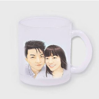 ★ GiftPaint ★ custom ceramic mug portrait wind beautiful [Single]
