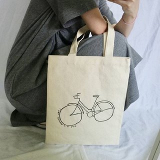 Hand-drawn bag(Bicycle)