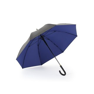 [German kobold] Anti-UV zero-light intelligent sunscreen -80Kg Super resistance to strong wind - Women's Sunshade Sunshade - Straight umbrella - Sapphire Blue