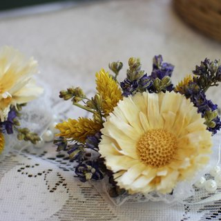 Temperament section dried flower handle flower] - eternal flower / dried flower / bouquet jewelry / wedding bouquets Bouquet / Flower Ceremony