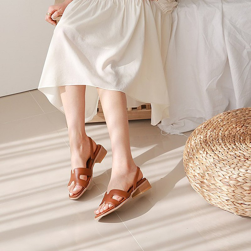 PRE-ORDER韓國人手製 MACMOC Bungle Brown 涼鞋