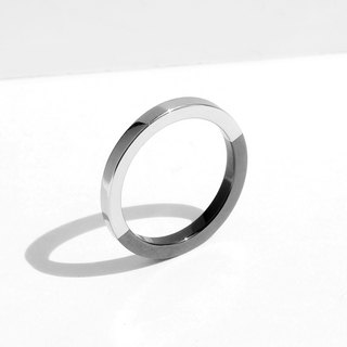 NEW COLOR! Two-Tone Minimal Ring | Grey