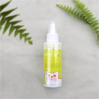 Happy Cat- Bugs Baibai - natural anti-flea spray insecticide / cat with -120ML