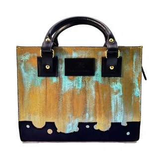 RUST GOLD 2Way Hand & Chain Shoulder Bag