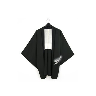 Back to Green-Japan brought back feather woven white pine / vintage kimono