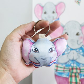 Cute Doll Keychain
