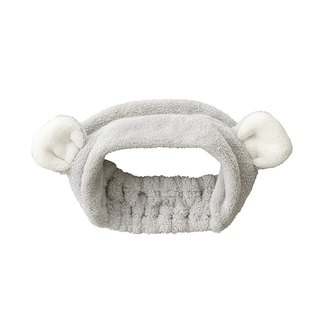CB Japan Children's Animal Model Microfiber Hair Band - Hairless Bear Gray