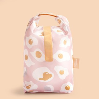 Good day | Pockeat green food bag (big food bag) - egg sad