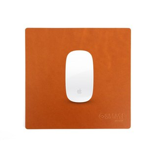 BEFINE Modern Urban Style Leather Mouse Pad - Light Brown (8809402594665)